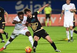 Antalyaspor - Osmanlıspor: 1-1