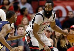 Houston Rockets, 24 isabetli üç sayılık atışla NBA rekoru kırdı