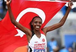 Milli atlet Yaseminin Avrupa rekoru onandı