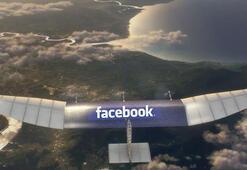 Facebookun droneu yere çakıldı
