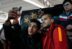 Galatasaray kafilesi Ankaraya geldi