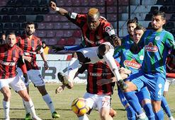 Gaziantepspor-Çaykur Rizespor: 1-2