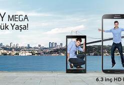 Samsung GALAXY Mega,  Haziranın ikinci yarısında Türkiye'de satışa sunulacak.
