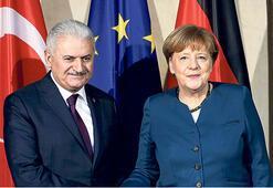 Almanya programı  yoğun ve kritik