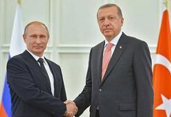 Son Dakika: Erdoğan, Putin ile Suriyeyi görüştü