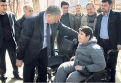 Mahmut Başkan verdiği sözü tuttu
