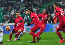 Bursaspor - Antalyaspor: 2-1