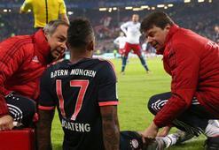 Bayern Münihte Boateng 6 hafta yok