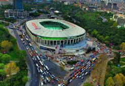 Vodafone Arena çevresinde güvenlik önlemleri