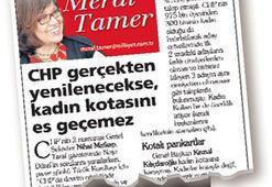 CHPde 1. devrim: % 33lük cinsiyet kotası kabul edildi
