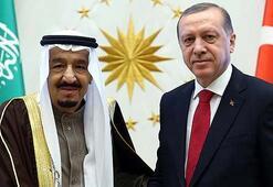 Son Dakika... Cumhurbaşkanı Erdoğan, S. Arabistan Kralı Selman ile görüştü