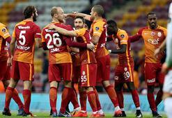 Galatasaray Alanyaspor maçında Sneijder şov (maç özeti)