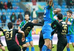Çaykur Rizespor-Osmanlıspor: 0-1