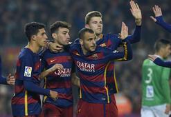 Barcelona - Villanovense: 6-1