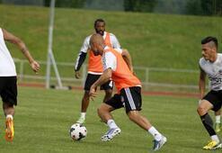 Beşiktaş antrenmanında transfer zirvesi
