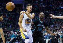 Curry yine şov yaptı, seri 20-0 oldu