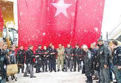 Erciş Belediyesinde 17 iş makinesi törenle göreve başladı