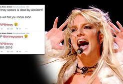 Britney Spears öldü tweeti ortalığı karıştırdı