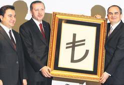 TL'YE ORTAYA KARIŞIK SİMGE
