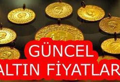 Altın fiyatları ne kadar Çeyrek ve Cumhuriyet altını ne kadar Kapalıçarşıda...