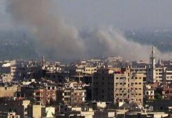 Şamdaki Rusya Büyükelçiliğine havan topu atıldı