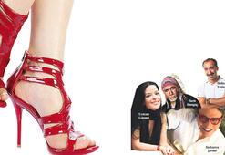 Topuklu ayakkabıyla şiddete tercümanlık