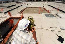 Timsah Arenaya 7 bin tonluk çatı