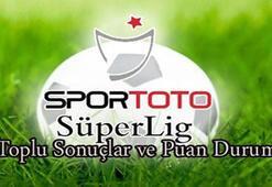Süper Lig puan durumu (14.hafta)