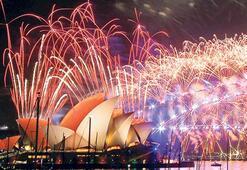 Sidney'de yeni yıl coşkusu