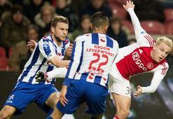 Hollanda Liginde Ajax 15. hafta sonunda liderliğini sürdürdü