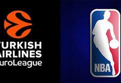 NBAde THY Euroleague heyecanı Artık maçlar...