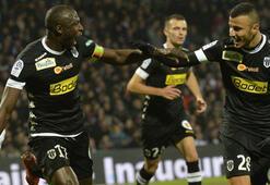 Fransa Liginde Angers ikinci sıraya yükseldi