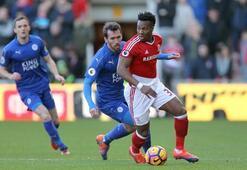 Middlesbrough - Leicester City maçından kareler