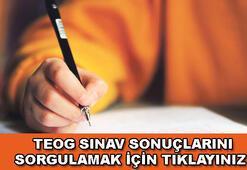 TEOG 1. dönem sınav sonuçları açıklandı (TEOG sonuçları sorgulama)