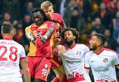 Galatasaray 3-0 Antalyaspor (İşte maçın özeti) Cimbom liderliği geri aldı