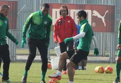 Bursaspor, Osmanlıspor maçı hazırlıklarını sürdürdü