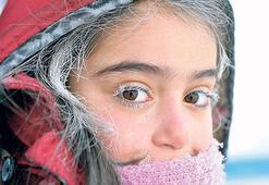 Sibirya değil kutup soğukları