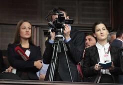 Davutoğlunun konuşmasını Rus televizyonu izledi