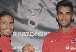 Mas ve Pereira resmen Trabzonsporda