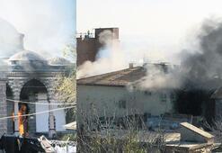 Camiden sonra okullar yanıyor