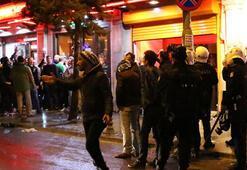 Taksimde Celtic taraftarı ile vatandaş arasında gerginlik