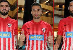 Boluspor, transferde 3 futbolcuyu kadrosuna kattı
