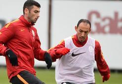 G.Saray, Beşiktaş derbisinin hazırlıklarını 6 eksikle sürdürdü