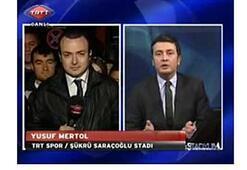 TRT canlı yayınında küfür şoku