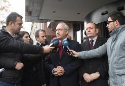 Kılıçdaroğlundan Meclis Başkanı Kahramana ziyaret