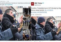 'Polis' dediler CHP İlçe Başkanı çıktı
