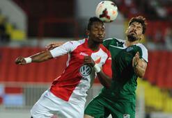 Bursaspor beraberliği 90da kaptı
