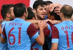 Trabzonspor tur için avantajı kaptı