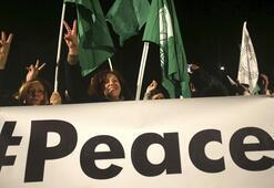 'Kıbrıs'ta barış engellenemez' mitingi