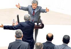 Genel Kurul'da kabin tartışması